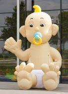 Opblaasbare Baby 3 meter