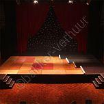 Balletvloer marley zwart per m2