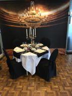 Thema decoratie wand (B)300 x (H)265 cm.