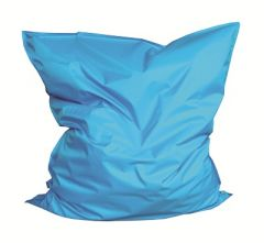Zitkussen 135 x 165 cm Blauw