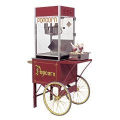 Popcornmachine met onderstel