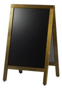 Krijtbord/ stoepbord 120x70 cm.-1220390