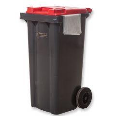 Afvalcontainer kliko Rood (Glas) incl. 1 afvalzak