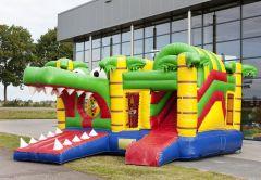 Springkussen Multiplay Krokodil (12 pers)-1280130