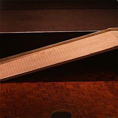 Ramp aluminium B 100 cm, L 320 cm.
