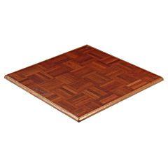 Dansvloer hoekplaat parket 90x90 cm