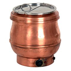 Hotpot ketel 10 liter rood koper