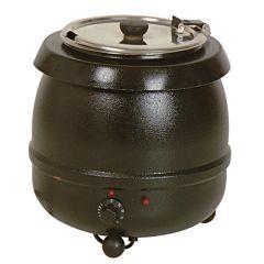 Hotpot/soep ketel zwart coating 10 liter