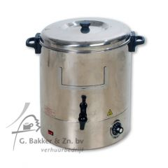 Waterkoker/ Gluhweinketel 30 liter (geen chocolade)-2070110