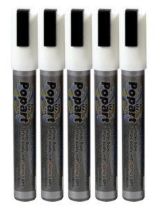 Krijtstift/ marker 6 MM wit (voor krijtbord)-7020355