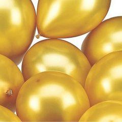 Ballonnen GOUD 25 cm geschikt voor helium (100 stuks)