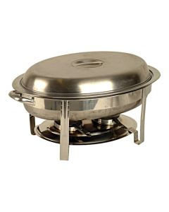 Chafing dish ovaal 5ltr